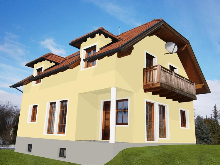 Fassade Gelb neuwertiges einfamilienhaus in grünruhelage 3592 gobelsdorf 20 zu